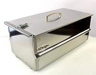 Двухярусная коптильня н/ж 250*250*200 мм