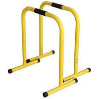 Эквалайзер тренировочный (2шт) QT1018 EQUALIZER (металл, р-р 58*40*70см, желтый)