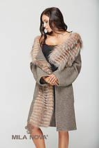 Пальто капучино, фото 2