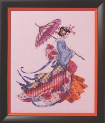 Схема для вышивки Miss Cherry Blossom Mirabilia Designs