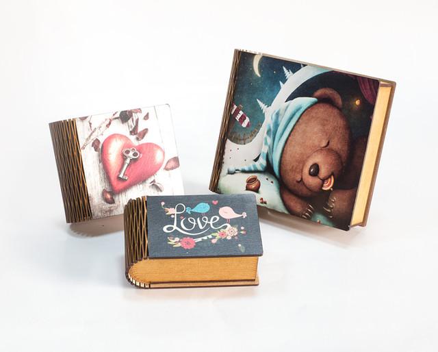 Декорированные шкатулки-книги