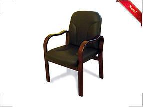 Кресло Касеро Кожа Люкс Комбинированная Черная  (Диал ТМ)