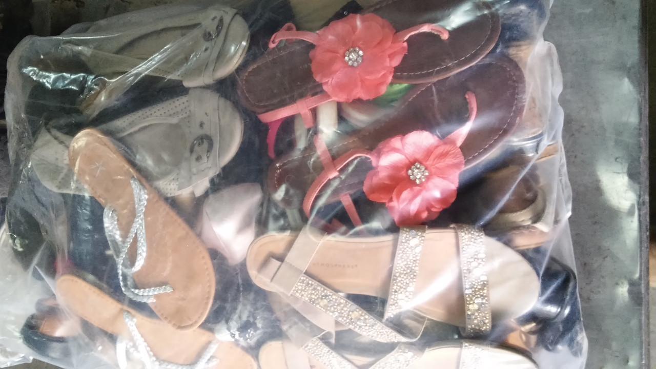 Обувь летняя секонд-хенд