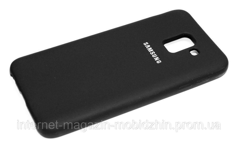 Оригинальный чехол Samsung J600 Galaxy J6 2018 Original Black