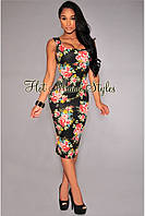Стильное, брендовое платье с принтом от Hot Miami Style