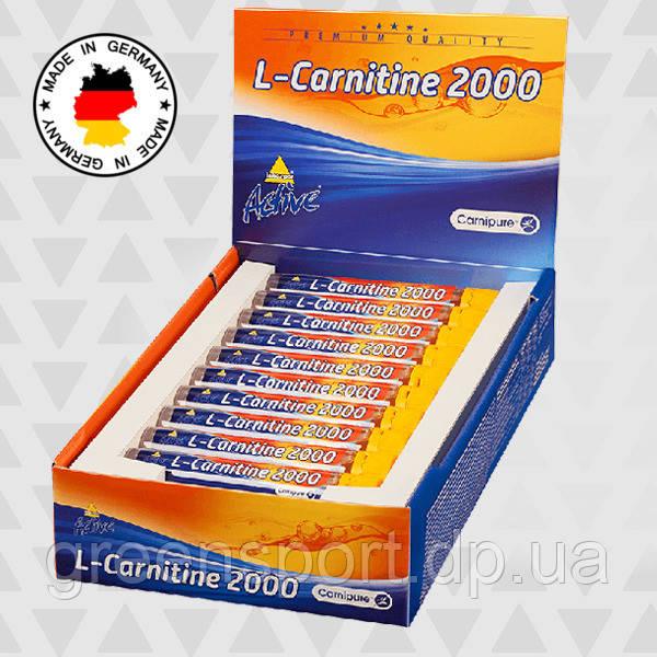Жиросжигатель Inkospor Active L-Carnitine 2000 (20 х 25 мл)