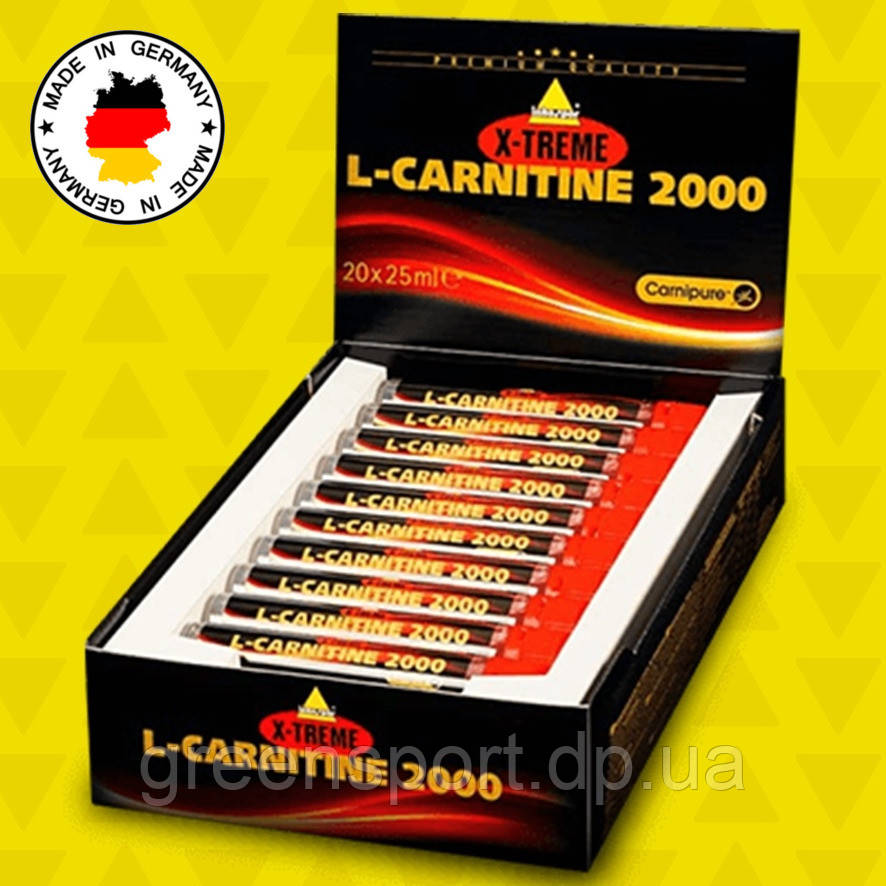 L-Карнитин Inkospor X-Treme L-Carnitine 2000 20х25 мл