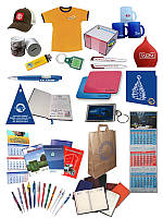 Рекламная продукция с логотипом. Ручки, чашки, флажки, футболки, значки