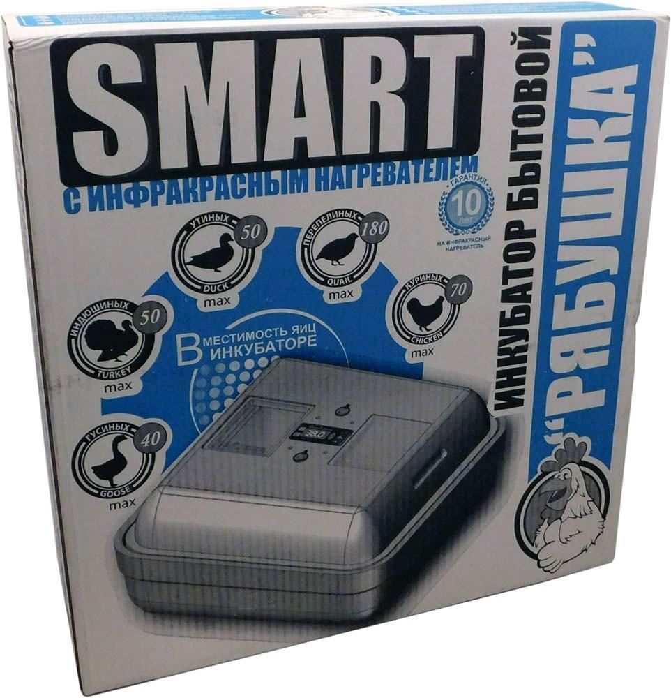 """Инкубатор ручной аналоговый  """"Рябушка"""" Smart 70 яиц"""