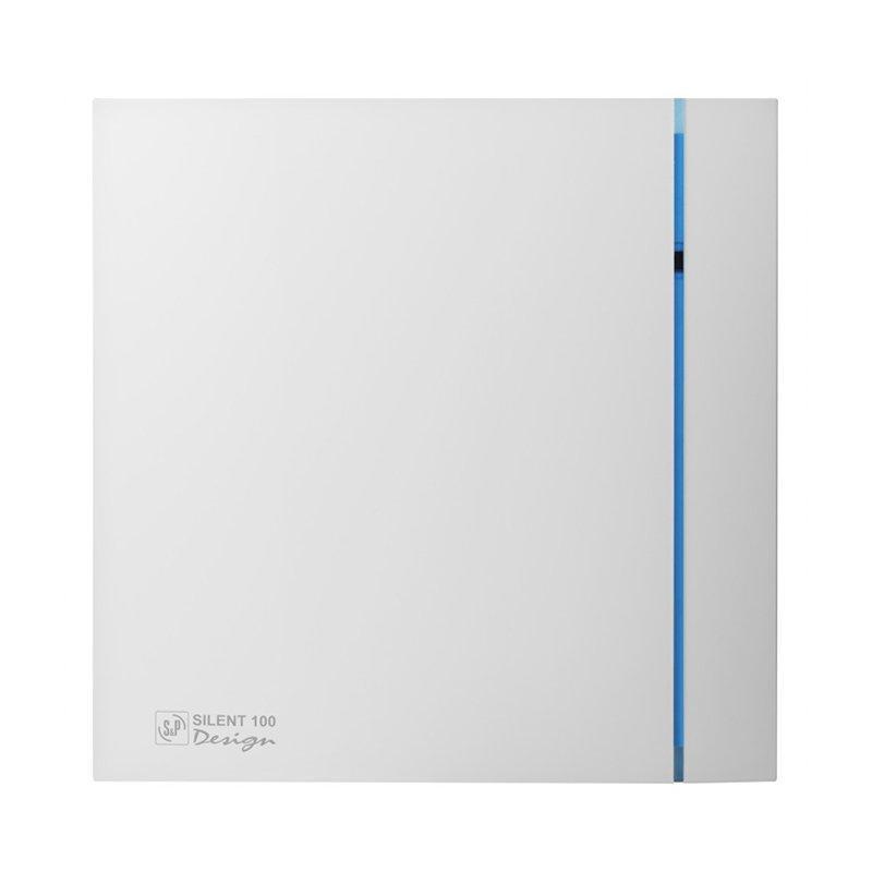 Осевой вентилятор для ванной Soler&Palau Silent 100 CRZ Design, с таймером