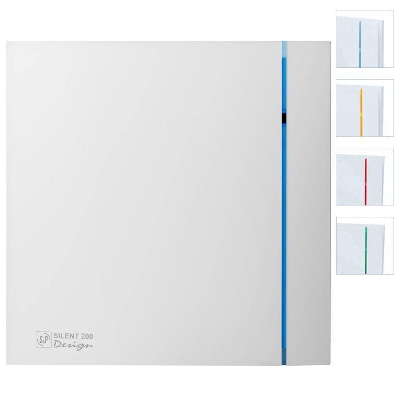 Бесшумный вентилятор для ванной Soler&Palau Silent 200 CZ Design 3C