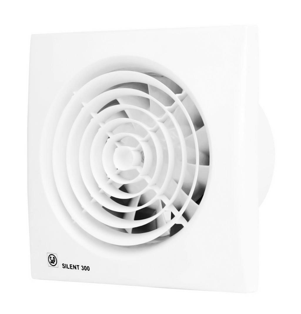Бесшумный вентилятор Soler&Palau Silent 300 CRZ PLUS, с таймером