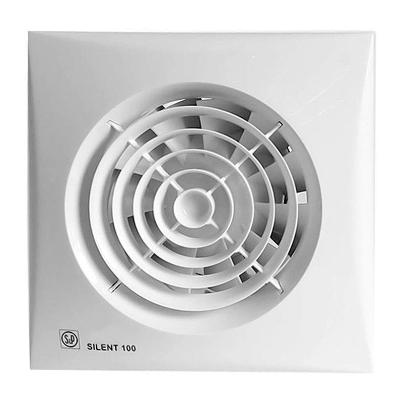 Осевой вентилятор для ванной Soler&Palau Silent 100 CZ 12V
