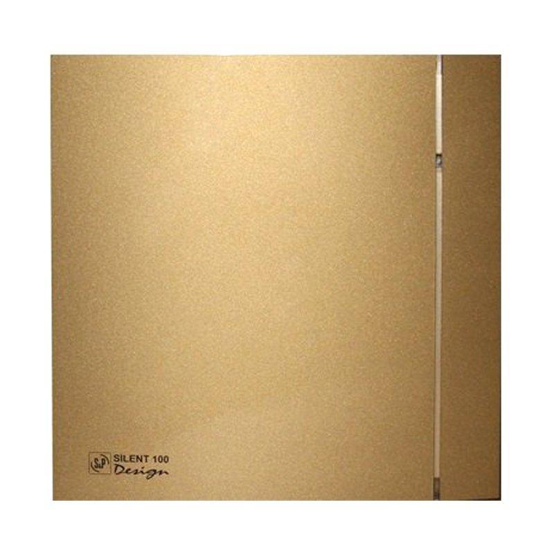 Осевой вентилятор для ванной Soler&Palau Silent-100 CZ GOLD DESIGN 4C