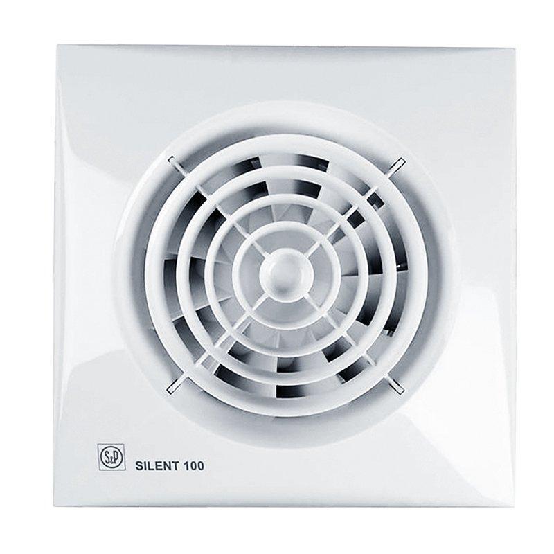 Бесшумный вентилятор с таймером Soler&Palau Silent-100 CRZ