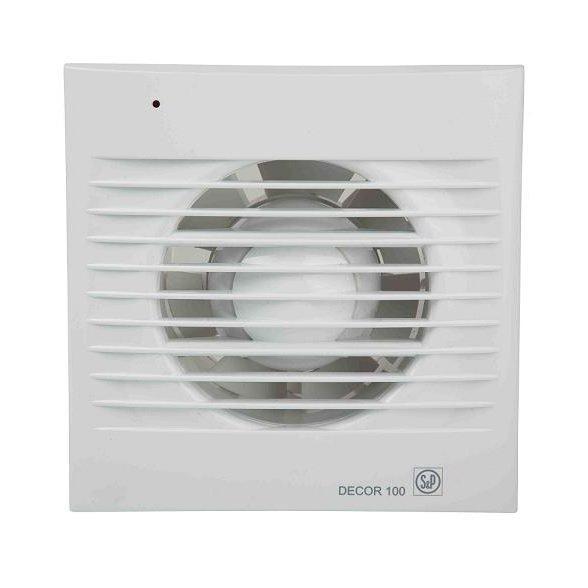 Осевой вентилятор для ванной Soler&Palau DECOR-100 СZ