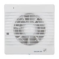 Осевой вентилятор для ванной Soler&Palau DECOR-200 С
