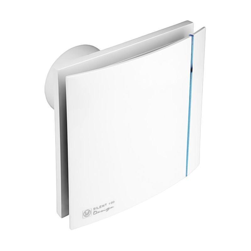 Бесшумный вентилятор для ванной Soler&Palau SILENT-100 CZ DESIGN ECOWATT
