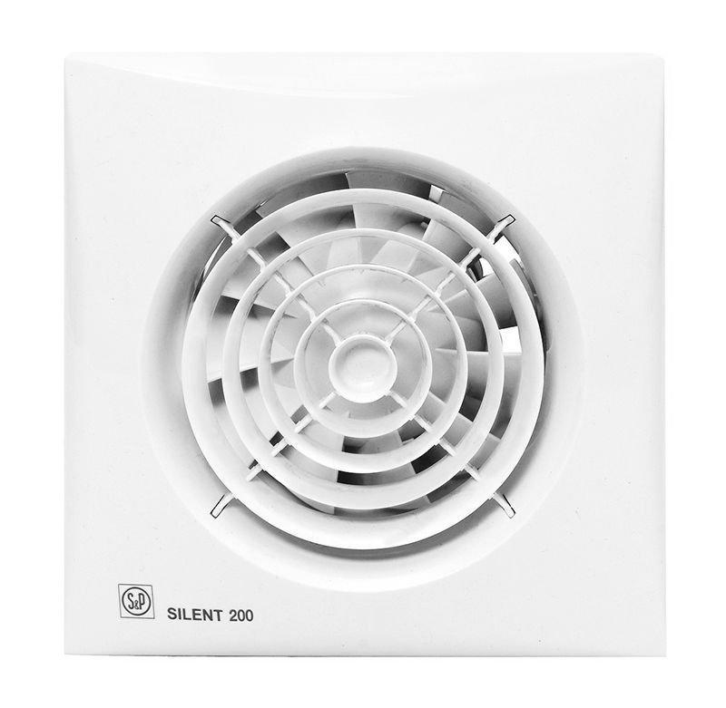 Бесшумный вентилятор с таймером Soler&Palau Silent 200 CRZ