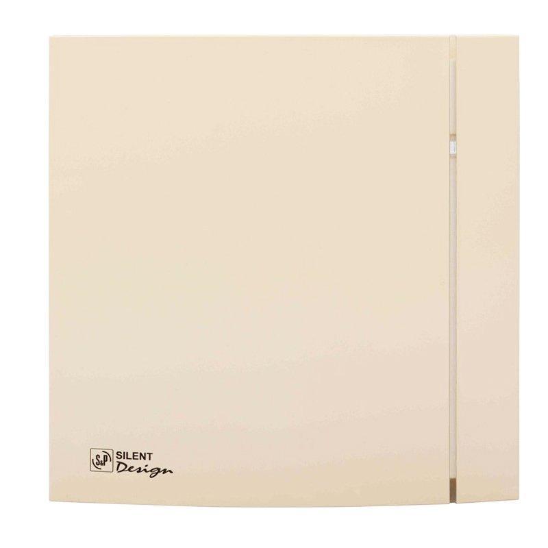 Осевой вентилятор для ванной Soler&Palau Silent-100 CZ IVORY DESIGN 4C