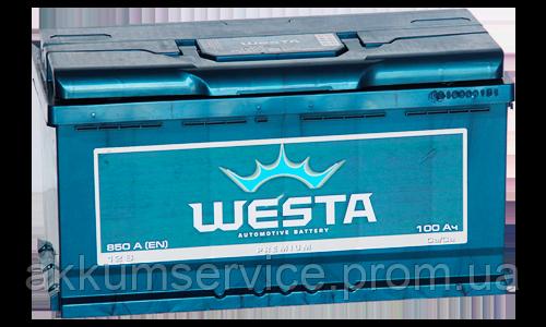 Аккумулятор автомобильный Westa 100AH R+ 850A