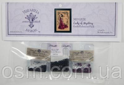 Набор бисера Lady of Mystery Mirabilia Designs Mill Hill Embellishment Pack