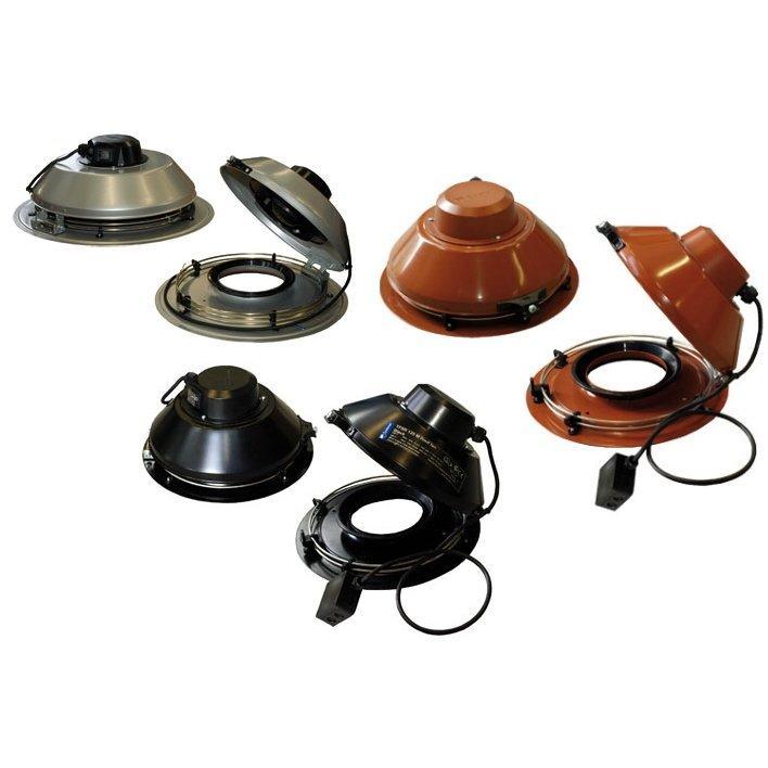Systemair TFSR - крышный вентилятор для круглых воздуховодов