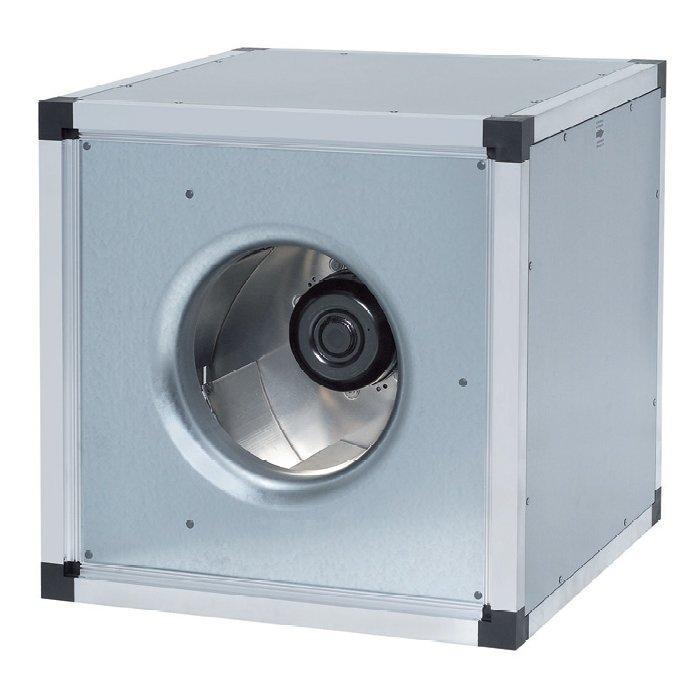 Systemair MUB - канальный вентилятор в шумоизолированном боксе
