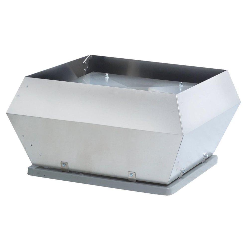 Systemair DVS - крышный вентилятор для работы в климатических зонах с агрессивной окружающей средой