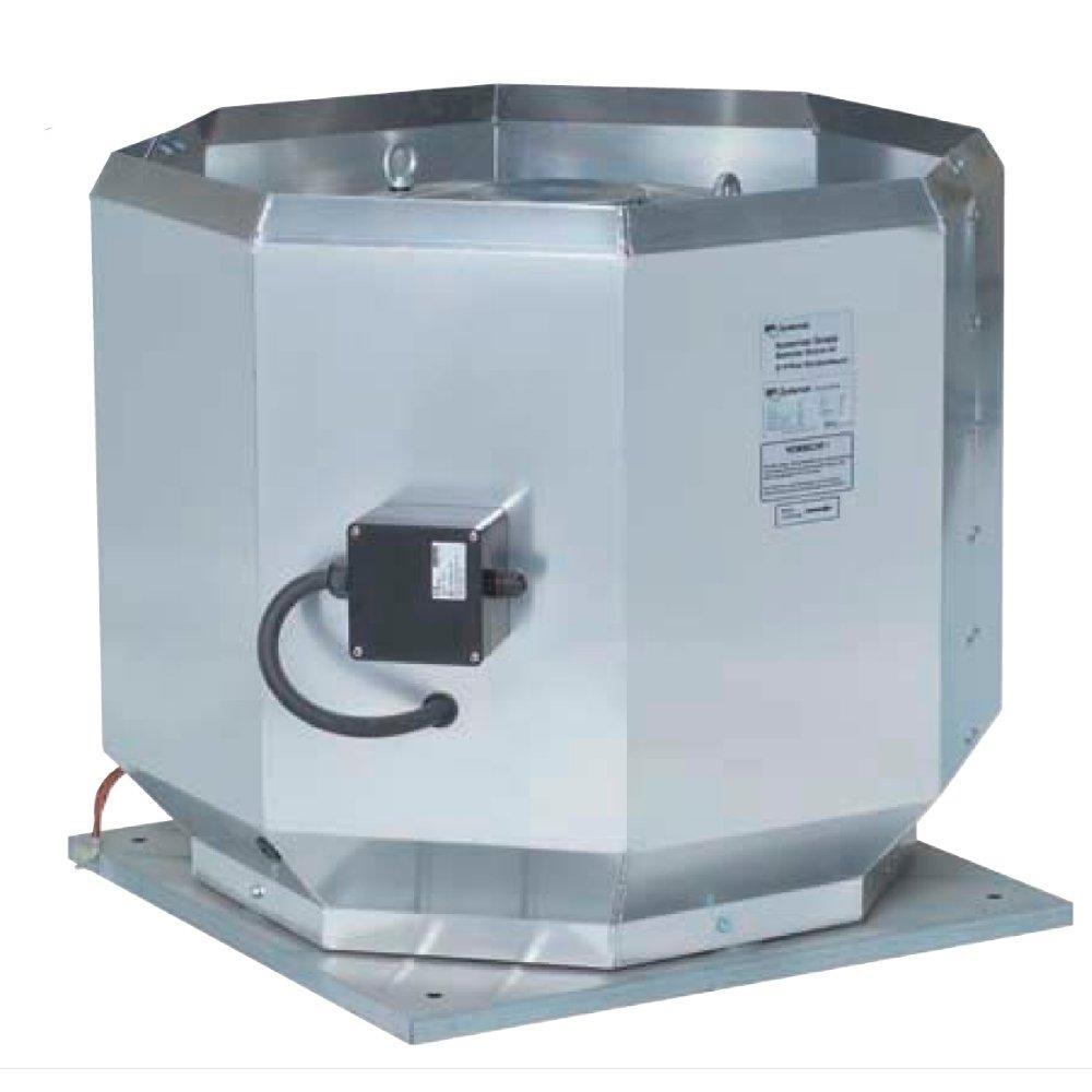 Systemair DVV - крышные вентиляторы для работы в агрессивных средах и высоких температурах