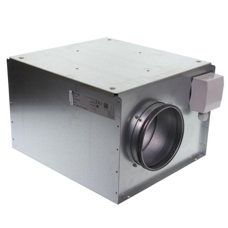 Systemair KVK - центробежный канальный вентиляторв шумоизолированном корпусе