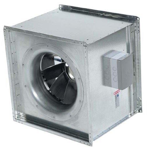 Systemair KDRD - канальный вентилятор для квадратных каналов воздуховода