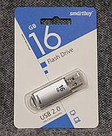 USB флешка Smartbuy 16GB V-Cut silver
