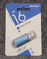 USB флешка Smartbuy 16GB V-Cut blue