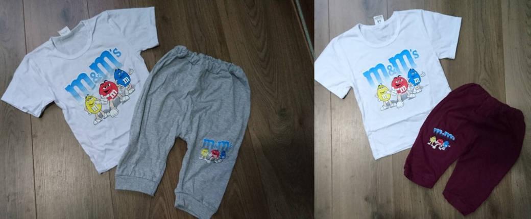 Бриджи + футболка M&Ms, фото 2