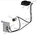 Конденсор (радіатор) кондиціонера МТЗ, фото 3