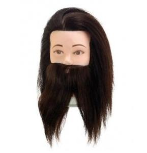 Учебная голова Comair мужская с бородой