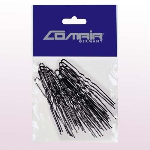 Шпильки для локонов Comair, 50 шт, Ø0,55 х 75 мм, черные