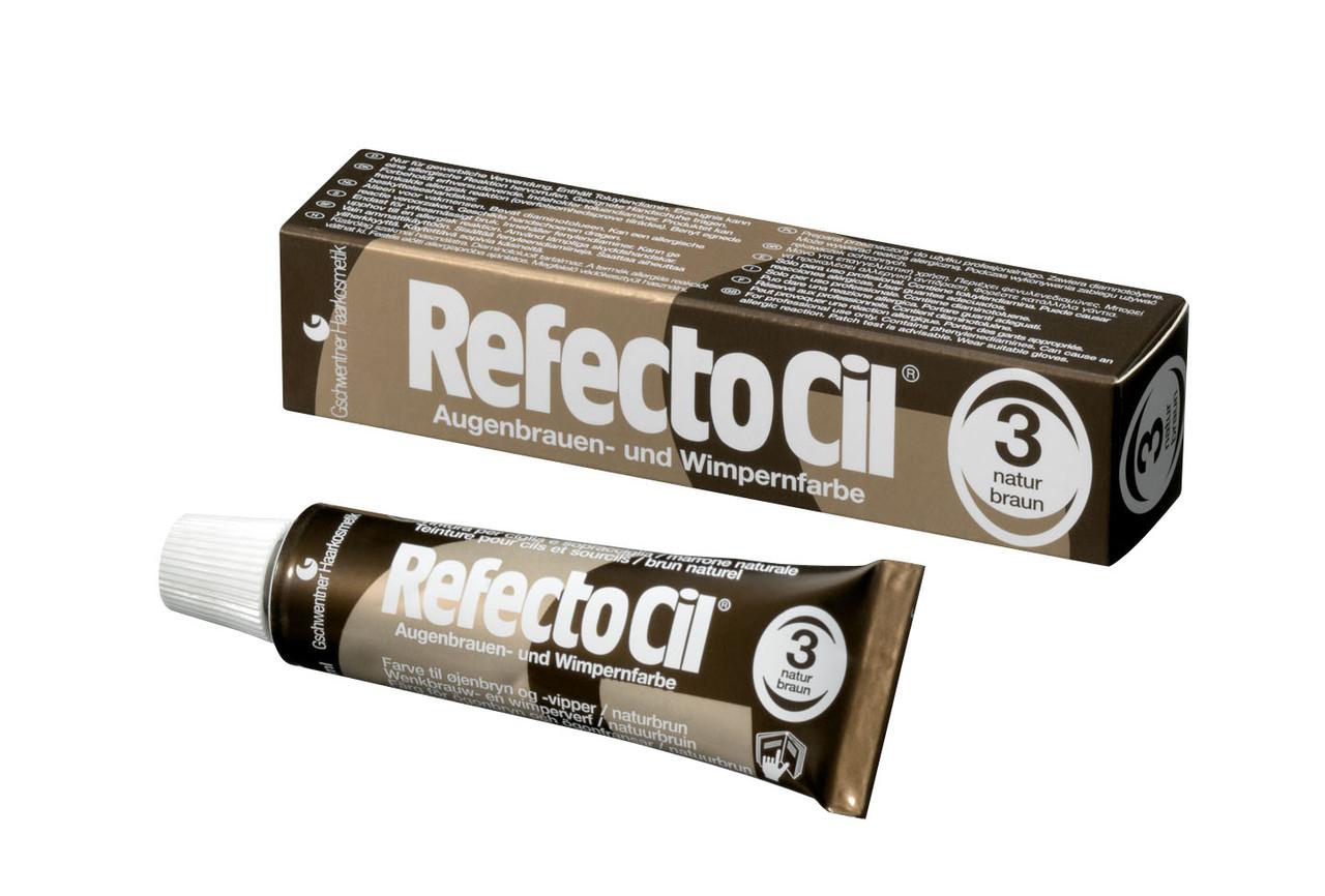 RefectoCil №3 Краска натур.коричневая