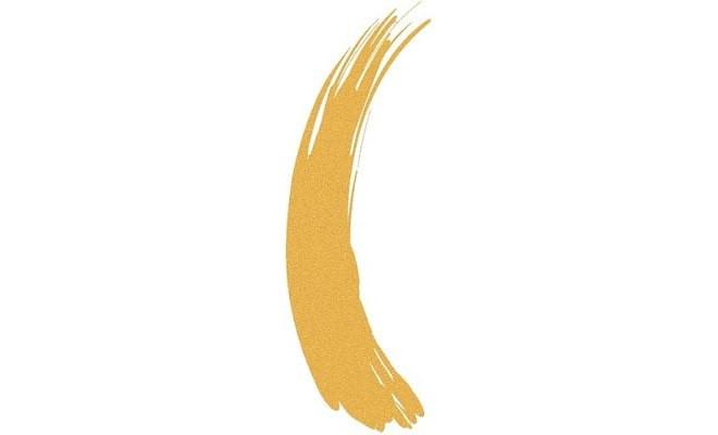 Тушь для волос PlayUpColor 3 золотая