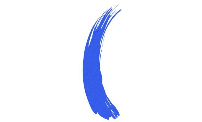 Тушь для волос PlayUpColor 6 светло-синяя