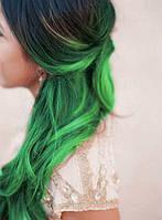 Тушь для волос PlayUpColor 9 зеленая, фото 2