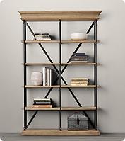 Корпусная мебель на заказ - стеллажи и этажерки