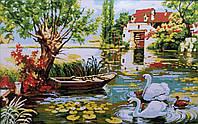 Лебединое озеро Набор для вышивки крестом