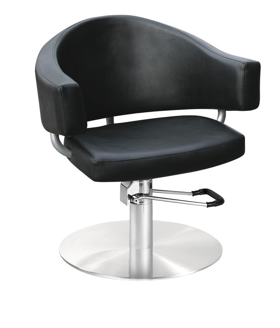 Кресло парикмахерское Comair Valencia черное