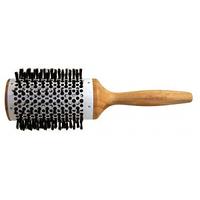 Щетка COMAIR бамбук/керамика 58 мм круглая, натур.щетина
