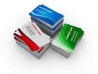 Печать визиток заказать в Украине