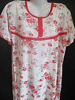 Недорогие ночные рубашки большого размера женские., фото 1