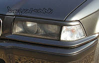 Бровки реснички тюнинг BMW E36 sedan