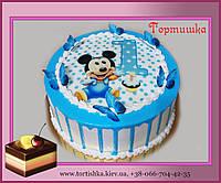 Торт Микки на годик